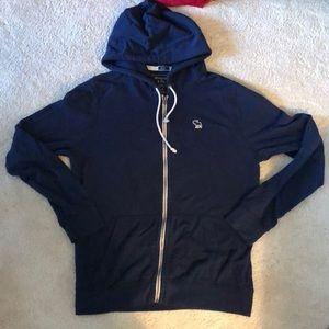 Navy blue Abercrombie & Fitch sweatshirt